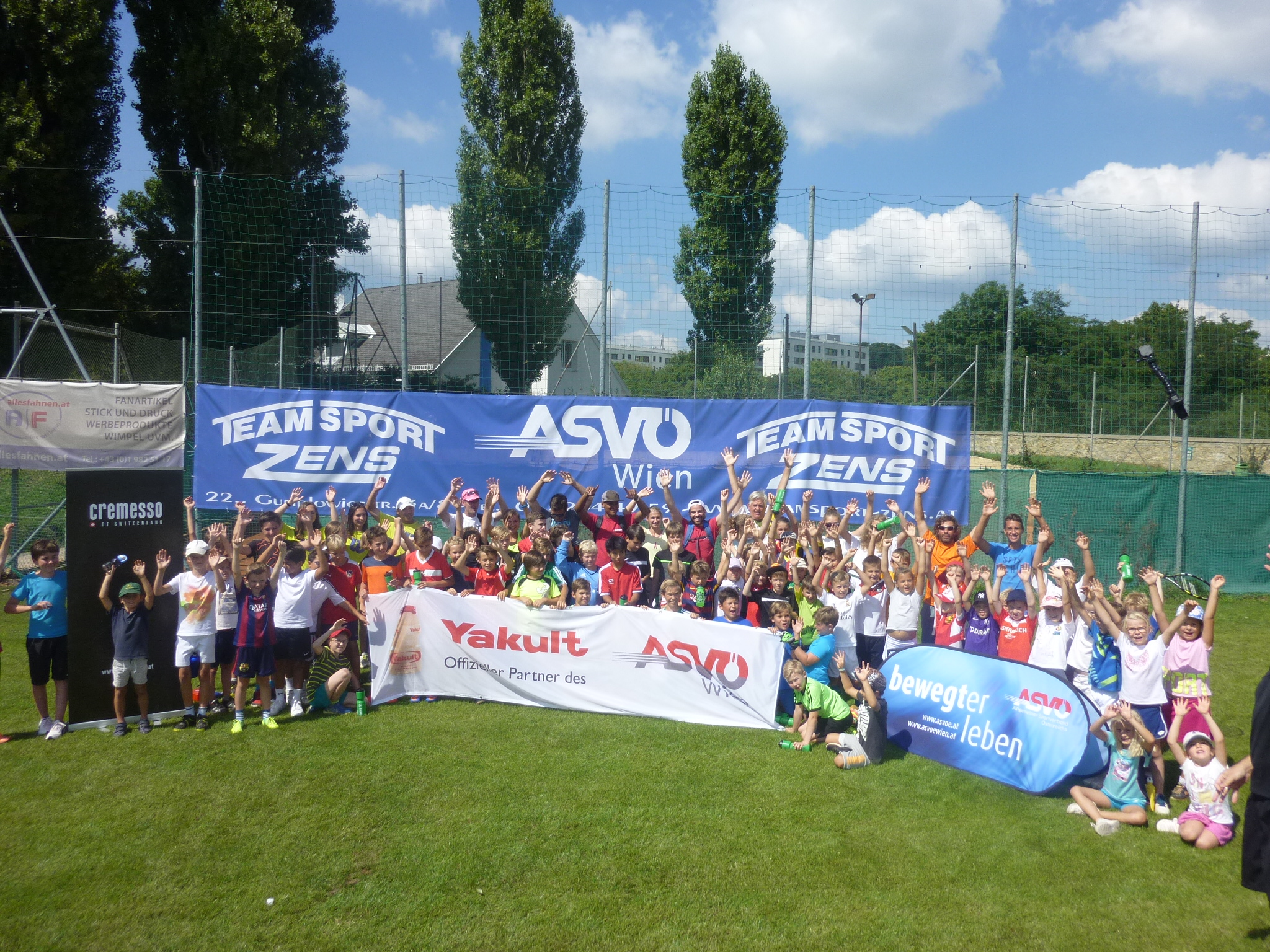 Tennis Fussball Camp 2016