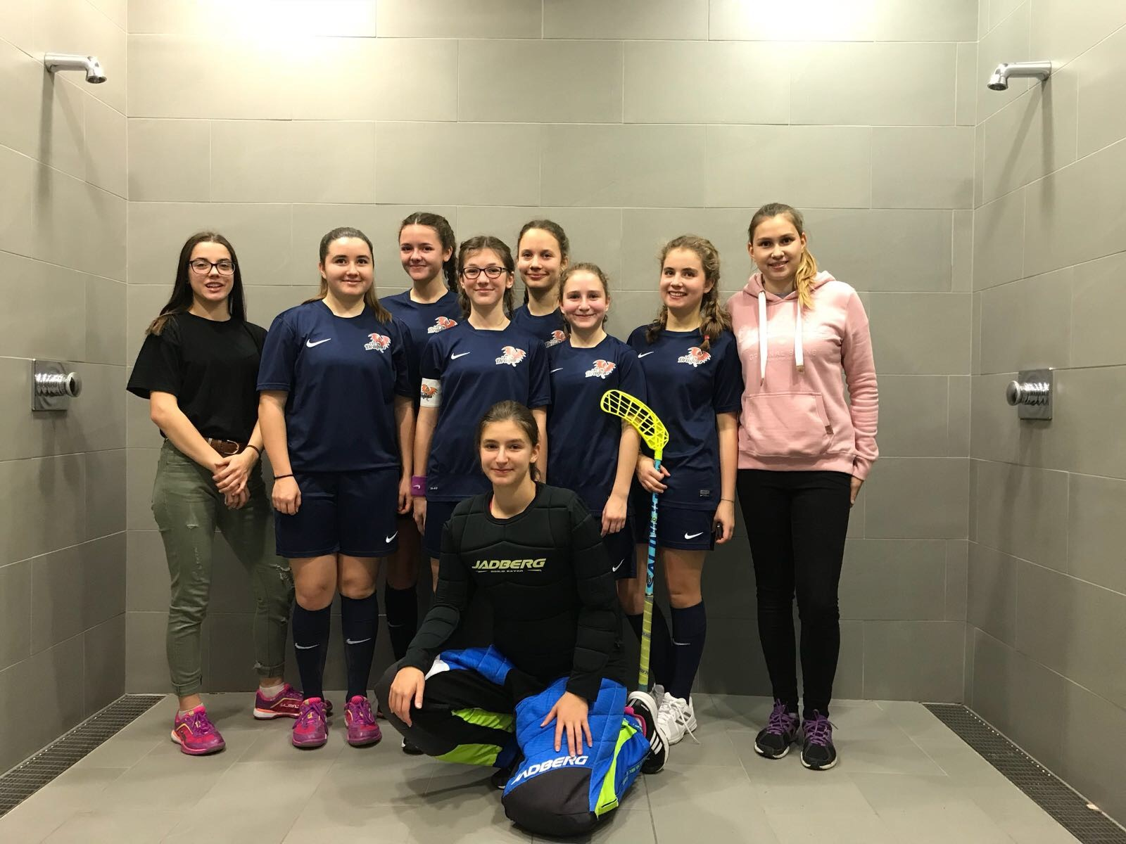 FBC Dragons u15 Damen Floorball