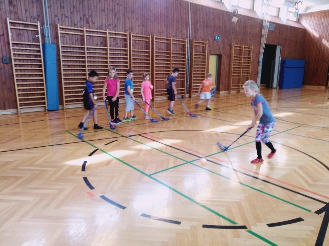 400 Volksschüler von Floorball begeistert