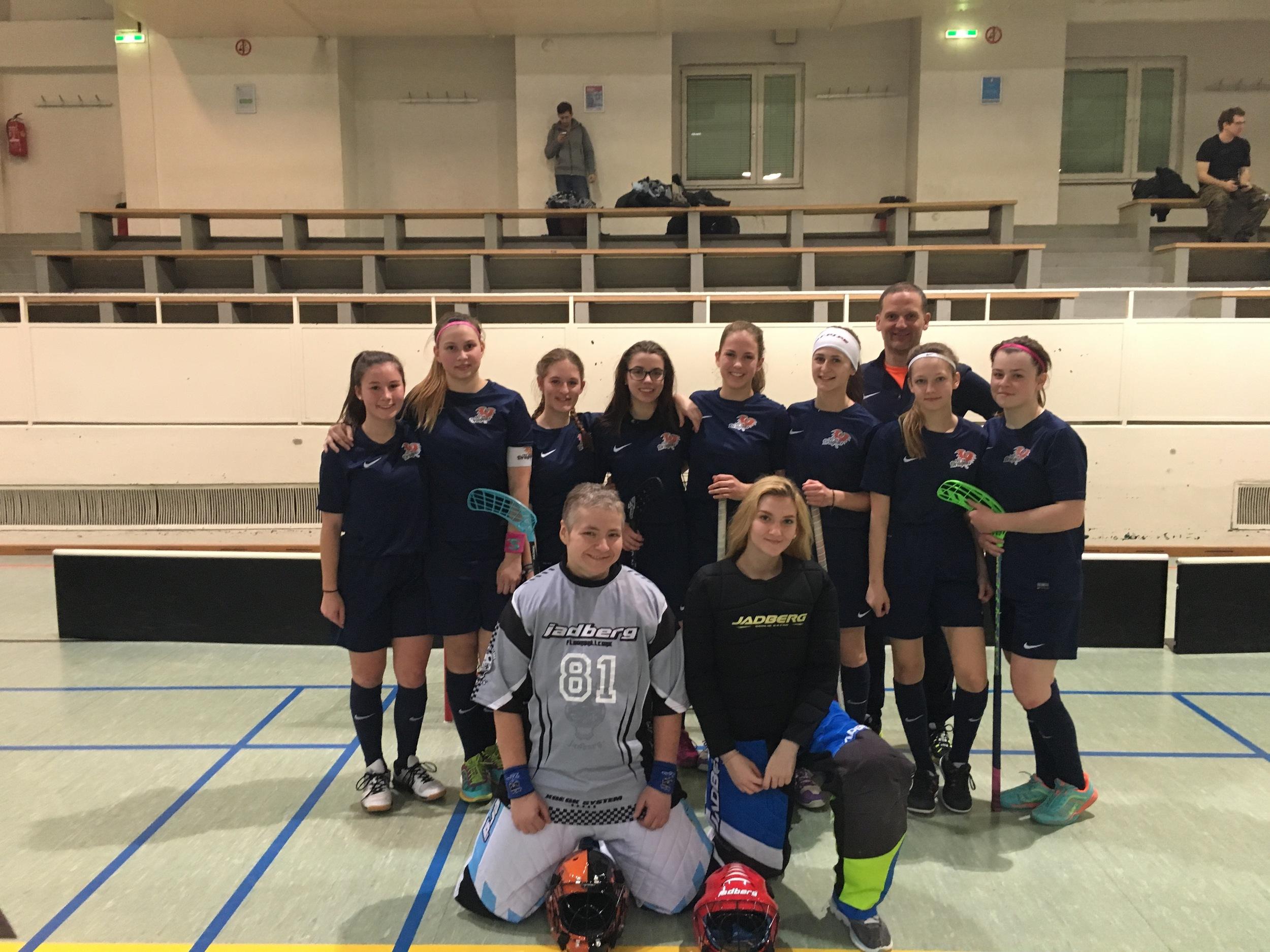 FBC Dragons Dragons erfolgreich in der Kleinfeld Bundesliga