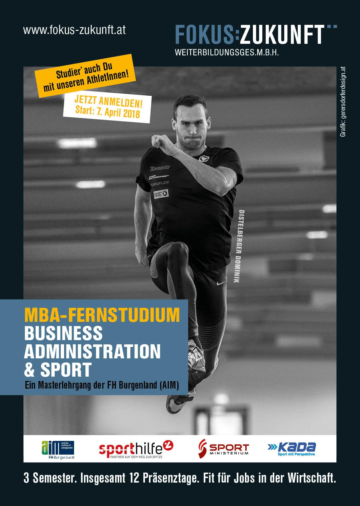 MBA-Fernstudium für Sportinteressierte