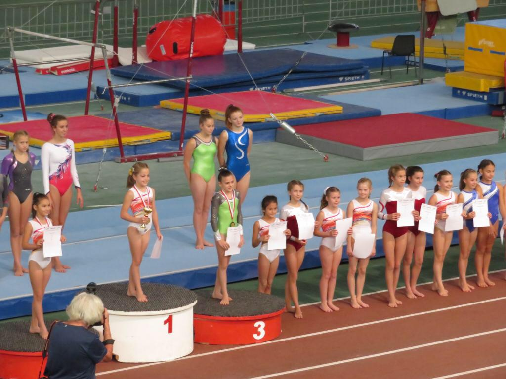 Wiener Kinder- und Jugendmeisterschaften der Kunstturnerinnen
