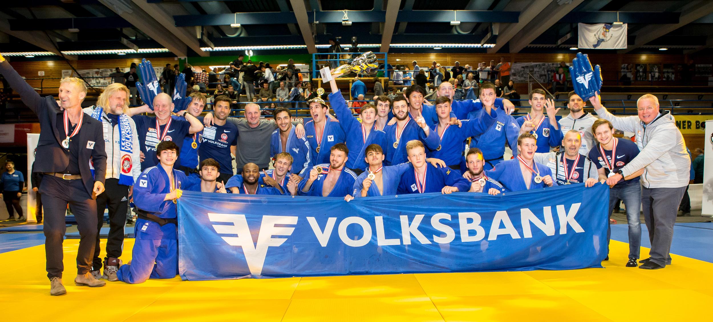 Mannschaftsstaatsmeister Volksbank Galaxy Judotigers