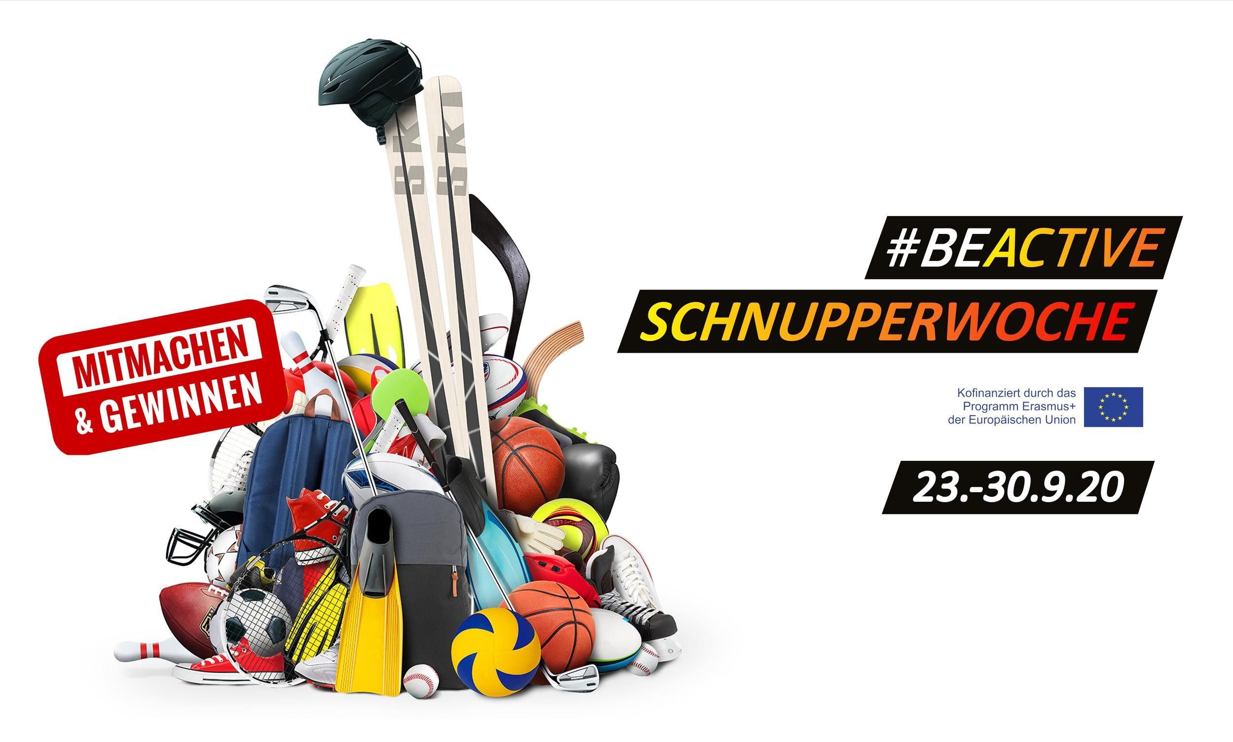 #BeActive Schnupperwoche Gewinner