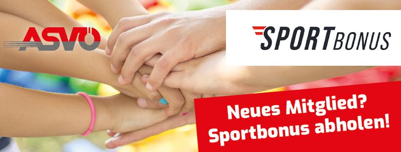 Sportbonus - so gehts!