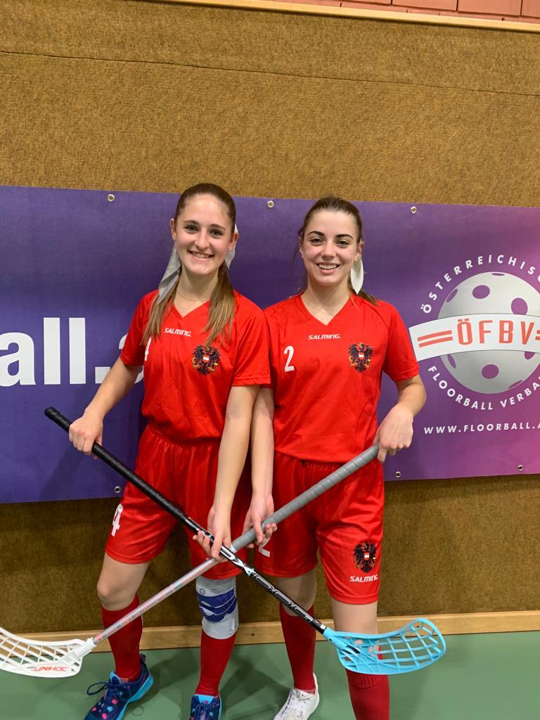 Floorball Mädels im Nationalteam